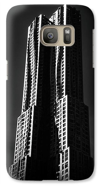 Galaxy S7 Case featuring the photograph Spruce Street By Gehry by Jessica Jenney