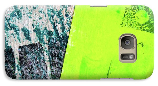 Galaxy S7 Case featuring the mixed media Square Collage No 1 by Nancy Merkle