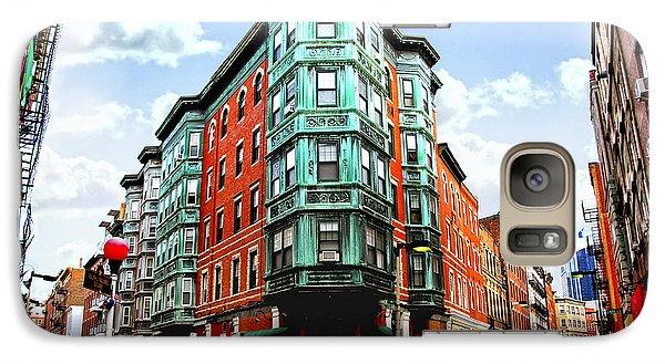 Square In Old Boston Galaxy S7 Case