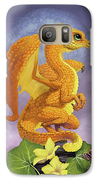 Galaxy Case featuring the digital art Squash Dragon by Stanley Morrison
