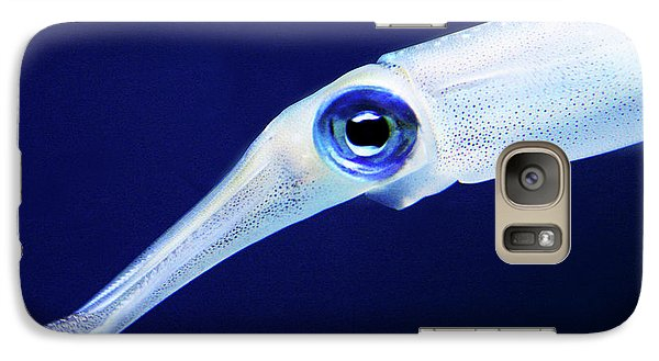 Galaxy Case featuring the photograph Squid by Anthony Jones