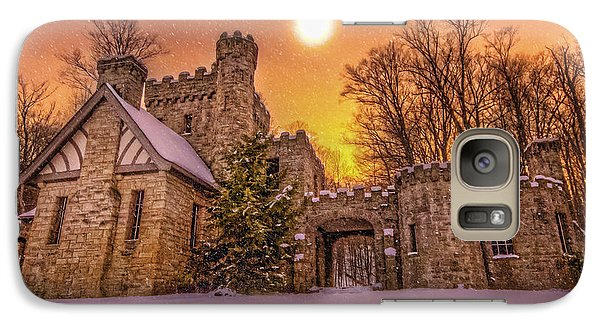 Galaxy Case featuring the photograph Squires Castle In The Winter by Brent Durken