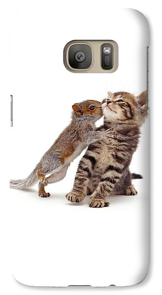 Squirrel Kiss Galaxy S7 Case