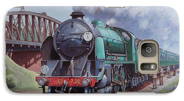 Galaxy Case featuring the painting Sr King Arthur Class. by Mike  Jeffries