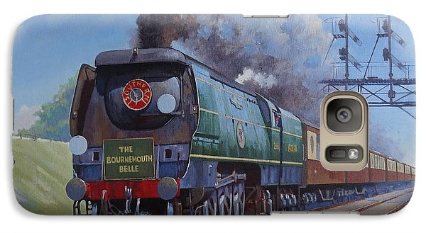Galaxy Case featuring the painting Sr Merchant Navy Pacific by Mike  Jeffries
