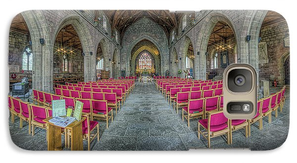 Galaxy Case featuring the photograph St Asaph Cathedral by Ian Mitchell