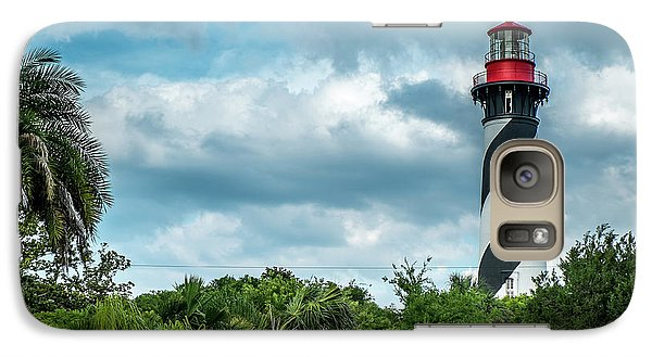 Galaxy Case featuring the photograph St. Augustine Lighthouse by Louis Ferreira