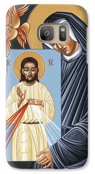 St Faustina Kowalska Apostle Of Divine Mercy 094 Galaxy S7 Case
