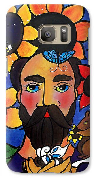 St. Francis - All Creatures Great And Small Galaxy S7 Case