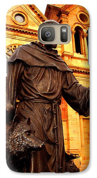 Galaxy Case featuring the photograph Cathedral Basilica Of St. Francis Of Assisi by Susanne Still