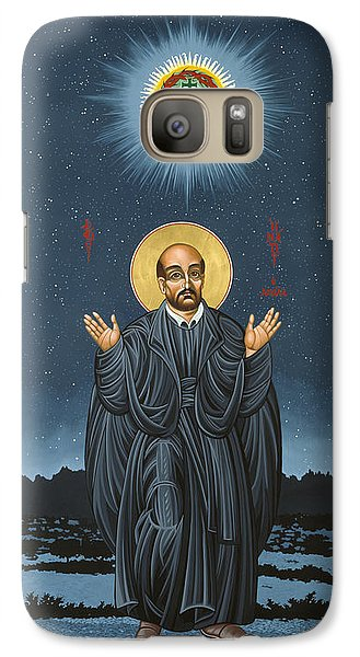 St. Ignatius In Prayer Beneath The Stars 137 Galaxy S7 Case