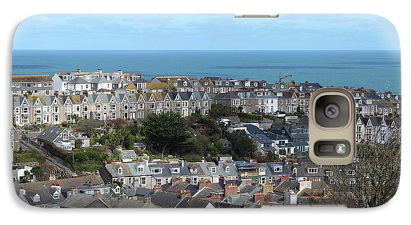 Galaxy Case featuring the photograph St Ives, Cornwall, Uk by Nicholas Burningham