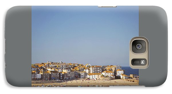 Galaxy Case featuring the photograph St Ives Harbour by Lyn Randle