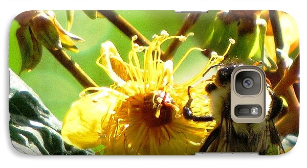 Galaxy Case featuring the photograph St. John's Wort by Melissa Stoudt