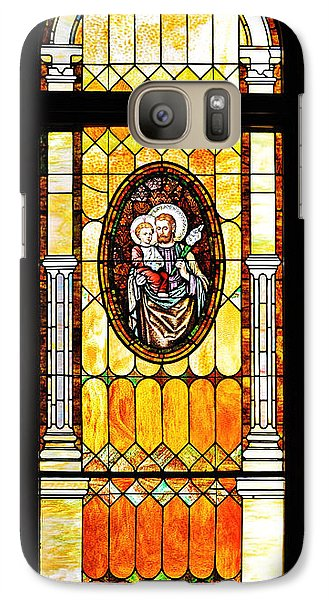 Galaxy Case featuring the photograph St Joseph Immaculate Conception San Diego by Christine Till