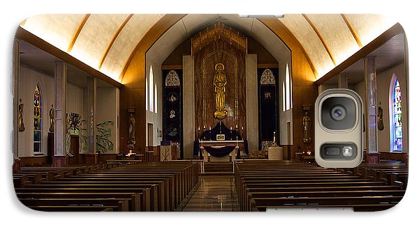 Galaxy Case featuring the photograph St. Josephs Catholic Church by Monte Stevens
