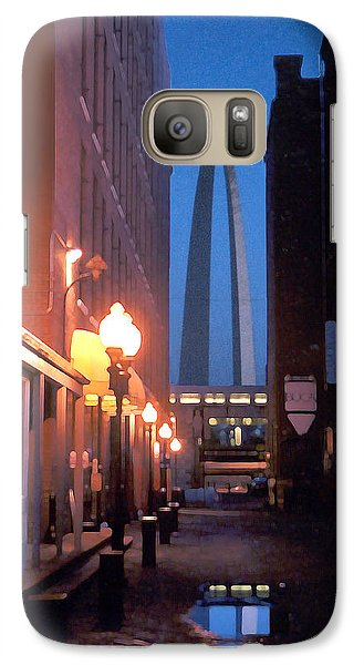 Galaxy Case featuring the photograph St. Louis Arch by Steve Karol