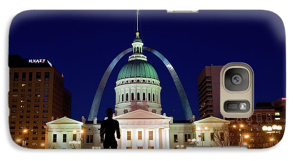 Galaxy Case featuring the photograph St. Louis by Steve Stuller