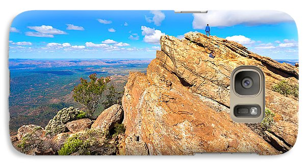 Galaxy Case featuring the photograph St Mary Peak by Bill  Robinson