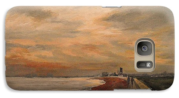 St Mary's Bay Kent Uk Galaxy S7 Case by Beatrice Cloake