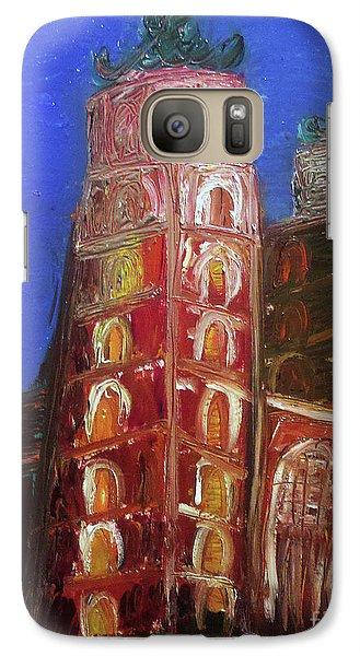 Galaxy Case featuring the painting St. Mary's Church Kosciol Marjacki by Ania M Milo