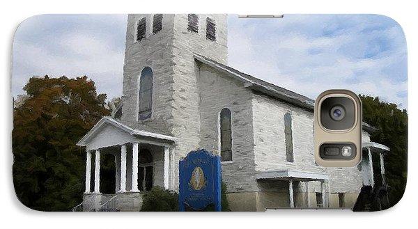 Galaxy Case featuring the photograph St Nicholas Church Saint Clair Pennsylvania by David Dehner