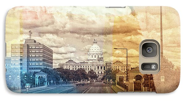 Galaxy Case featuring the photograph St. Paul Capital Building by Susan Stone