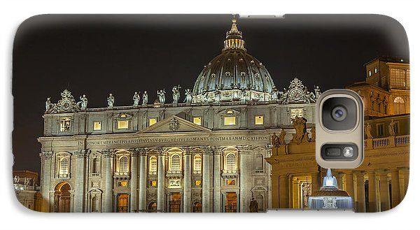 Galaxy Case featuring the photograph St. Peter Basilica by Ed Cilley