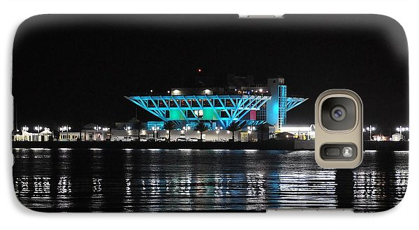 Galaxy Case featuring the photograph St Petersburg Florida Pier by John Black