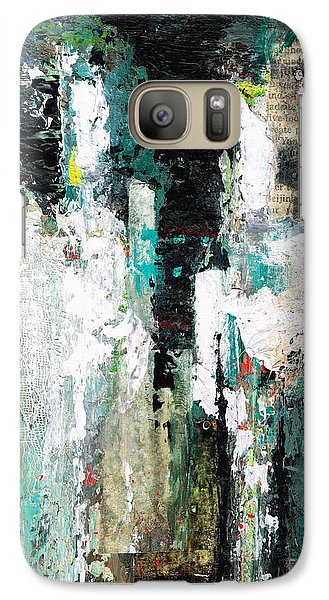 Galaxy Case featuring the painting I Fooled Around And Fell In Love by Frances Marino