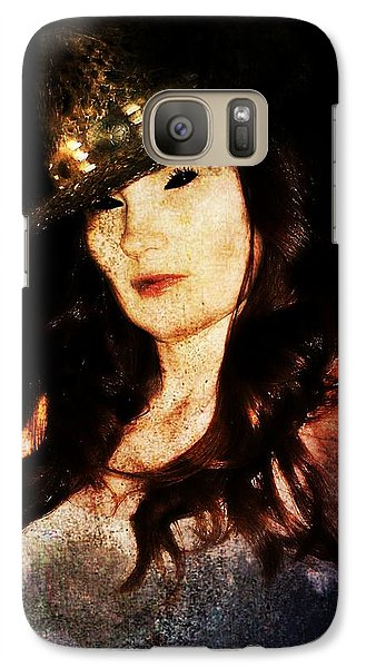 Galaxy Case featuring the digital art Stacy 1 by Mark Baranowski