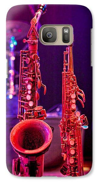 Stage Sax Galaxy S7 Case