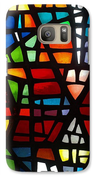 Galaxy Case featuring the photograph Stained Glass 2 by Michael Canning