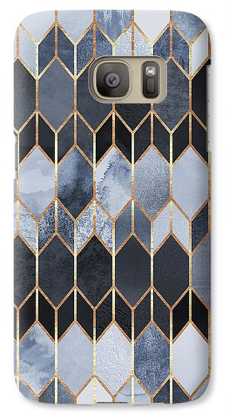 Stained Glass 4 Galaxy S7 Case by Elisabeth Fredriksson