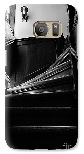 Galaxy Case featuring the photograph Stairway In Amsterdam Bw by RicardMN Photography