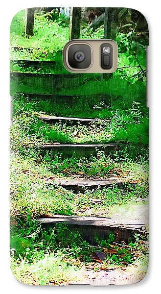 Galaxy Case featuring the photograph Stairway To Heaven by Donna Bentley