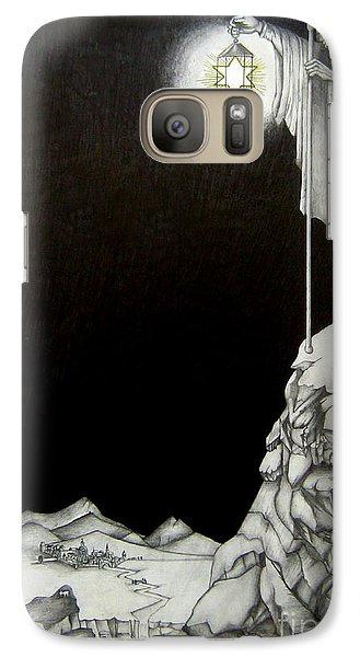 Galaxy Case featuring the drawing Stairway To Heaven by Patrice Torrillo