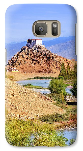 Galaxy Case featuring the photograph Stakna Monastery by Alexey Stiop