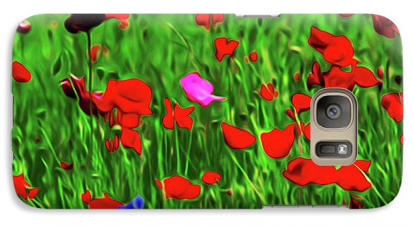 Galaxy Case featuring the digital art Stand Out by Timothy Hack