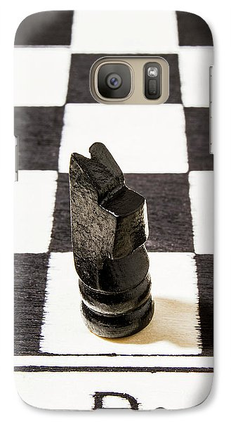 Knight Galaxy S7 Case - Stand Up For The Dark Horses by Jorgo Photography - Wall Art Gallery