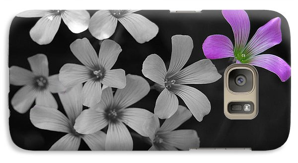 Galaxy Case featuring the photograph Stand Up Stand Out by Maggy Marsh