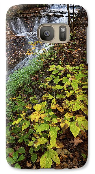 Galaxy Case featuring the photograph Standing On The Edge by Dale Kincaid