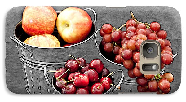 Galaxy Case featuring the photograph Standing Out As Fruit by Sherry Hallemeier
