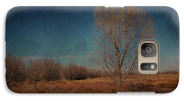 Galaxy Case featuring the photograph Standing Solo by Barbara Manis