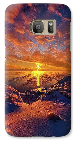 Galaxy Case featuring the photograph Standing Stilled by Phil Koch