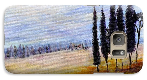 Galaxy Case featuring the painting Standing Tall by Dottie Branchreeves