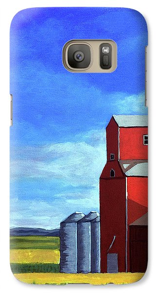 Galaxy Case featuring the painting Standing Tall by Linda Apple