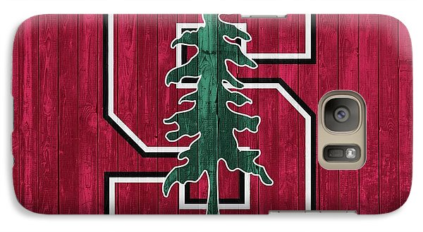 Stanford Barn Door Galaxy Case by Dan Sproul