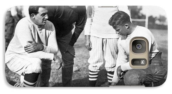 Stanford Coach Pop Warner Galaxy Case by Underwood Archives