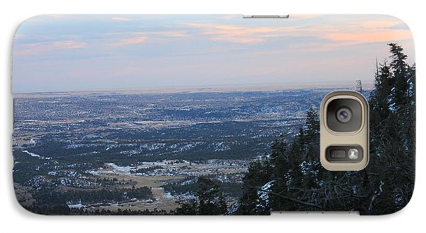 Galaxy Case featuring the photograph Stanley Canyon View by Christin Brodie